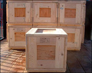 Stacking Crates for shipping tiles
