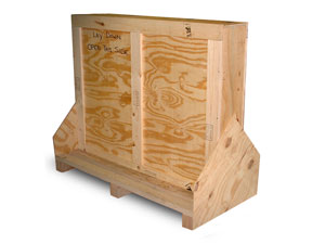 fine art shipping crate