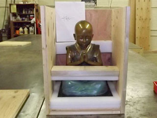 Baby Buddha #11 in crate