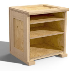 Nightstand Furniture Crate