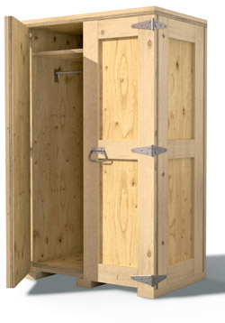 Superbe Furniture Crate Wardrobe