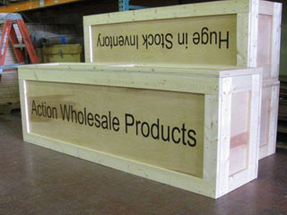 Action Wholesale display crates