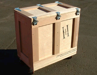 Display Crate constructed with premium woods