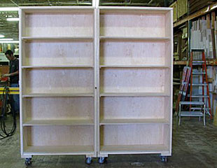 Bookcase Furniture Crate Open