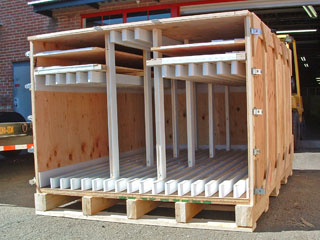 Crating And Shipping Company Artwork Crate Industrial Tradeshow