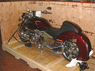 Motorcycle and ATV crating and ship anywhere from Tucson
