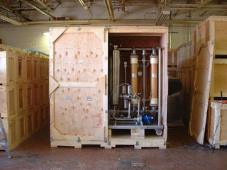 Wine making equipment shipped from Tucson