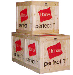 Display Crates for corporate event