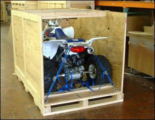 Motorcycle Shipping Crates | Motor bike and ATV Crating