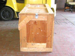 used crate for sale, side view
