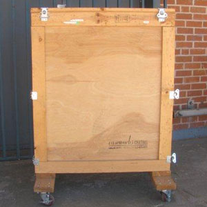 used crate exterior