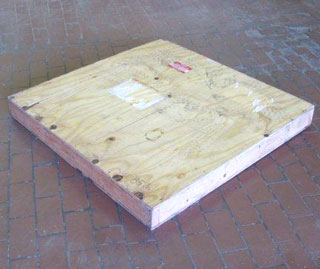 used shipping crate for sale, exterior