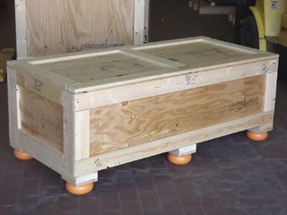 Surplus shipping crate for sale exterior