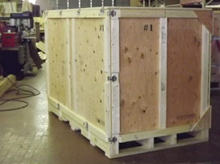 Surplus Crate exterior view
