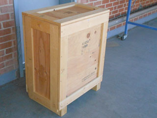 New Crate front view