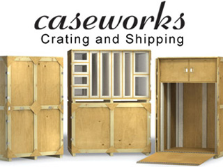 Charmant Crating And Shipping Company Artwork Crate ...